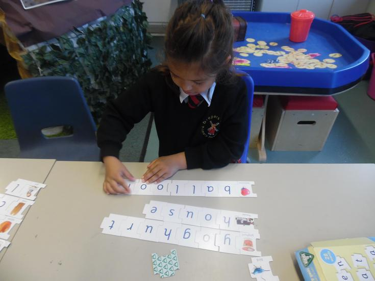 Solving word puzzles
