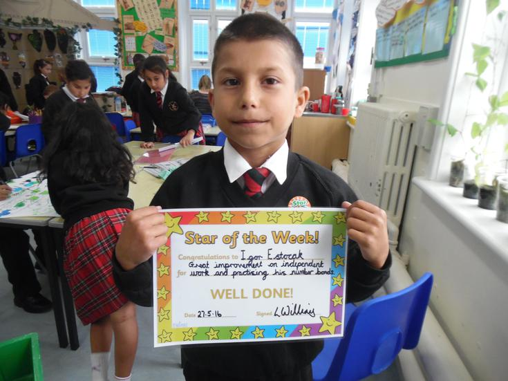 Congratulations Igor ! Our Star of the week !