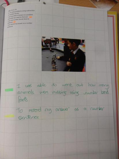 We used practical resources to solve problems.