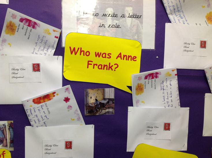 Letters 'from Anne Frank'