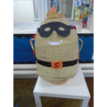 Supertato has joined our class.