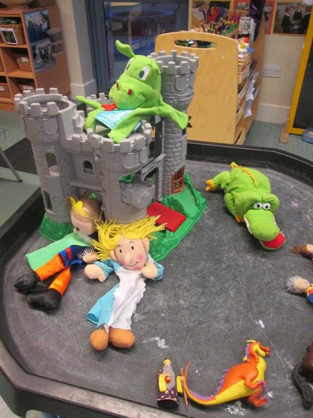 We re-enacted the princess' capture!