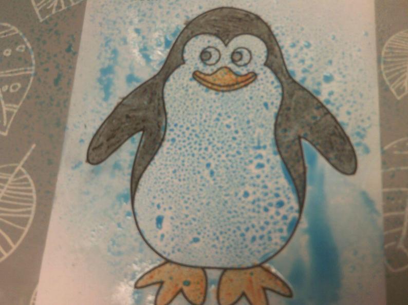 Waterproof penguin