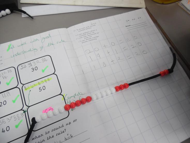 Number bond activities in Maths