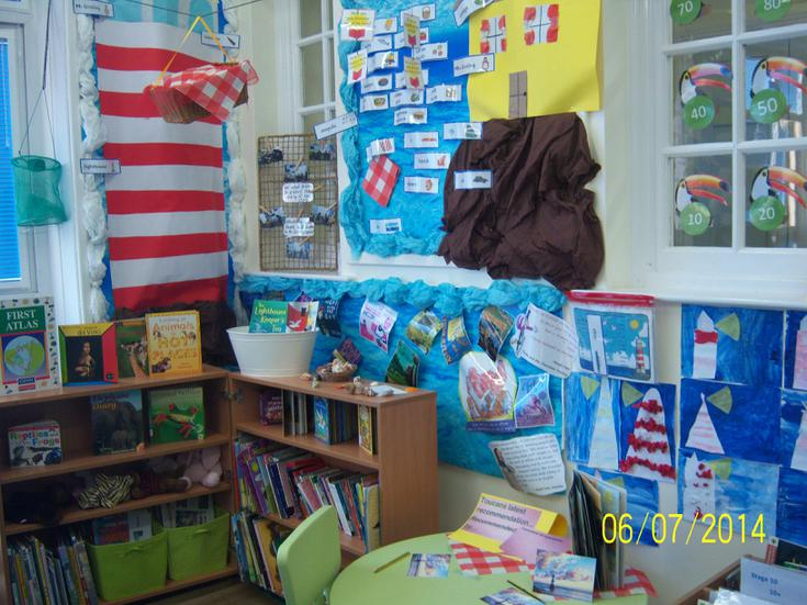 Our wonderful book corner based on our key text.