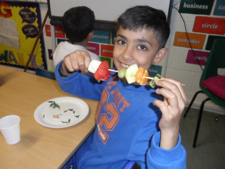 Healthy eating.........