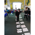 Use socks at home to practise counting!