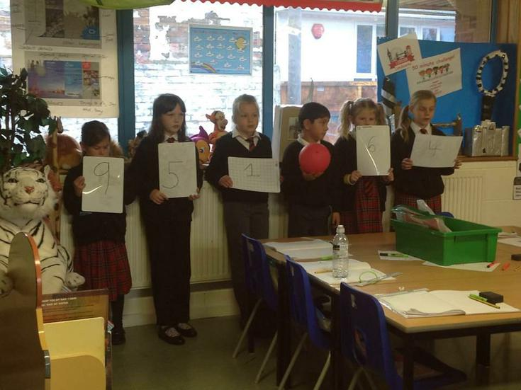 learning about place value in decimal numbers