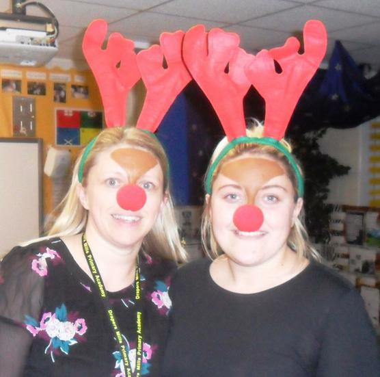 Become Rudolph the red nosed reindeer!
