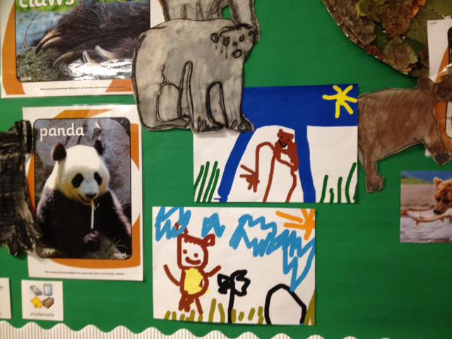 We have been creating bears using a paint program.