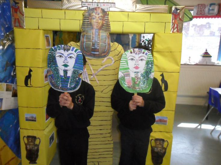 Amazing Tutankhamun Death Masks,