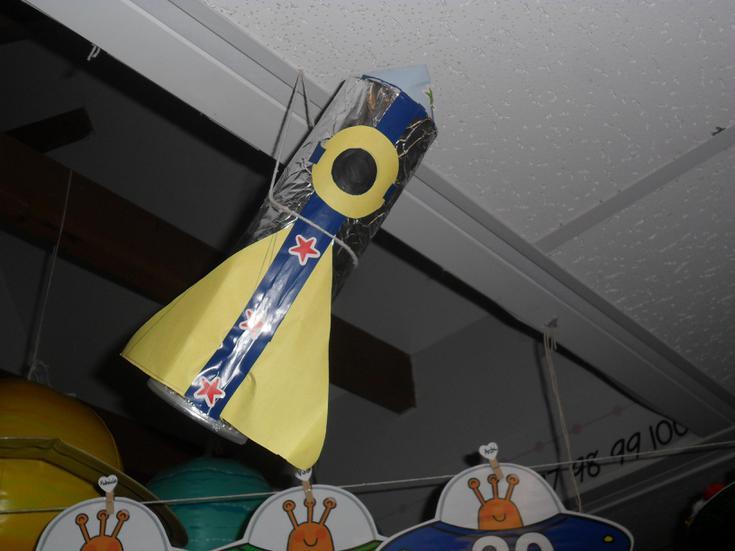 Mario's marvellous rocket.