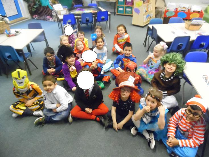 Dressed up in our favourite book characters