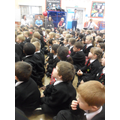 KS1 demonstrated respect & good listening skills.