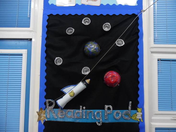 Our Reading Pod!