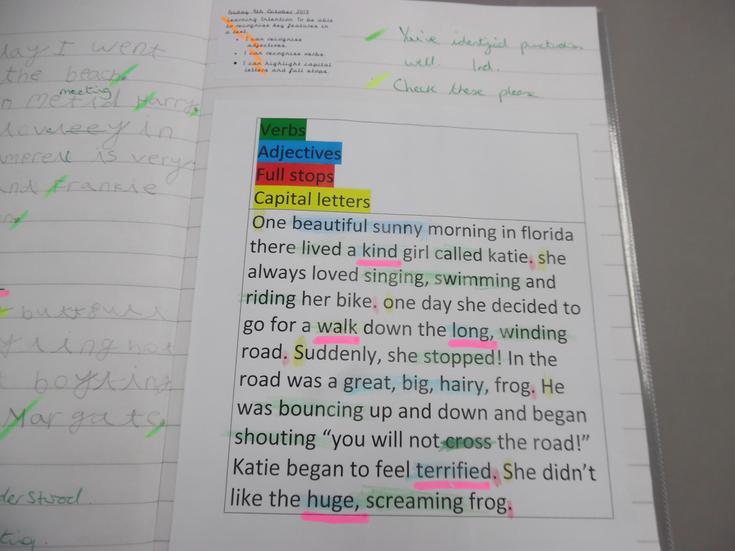 SPaG - identifying different punctuation in text