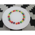 Add water to skittles-predict what might happen!