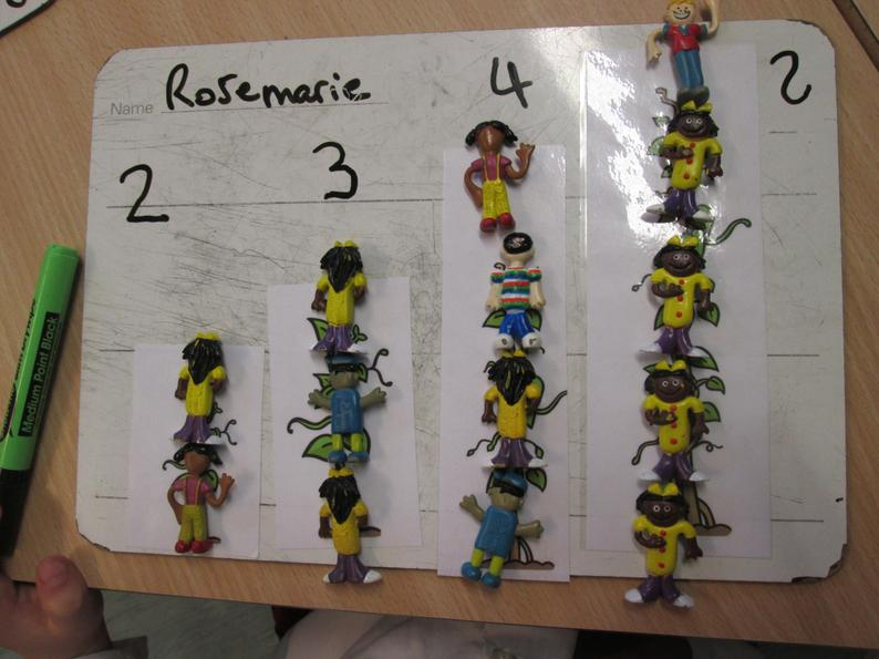 How tall is the beanstalk?