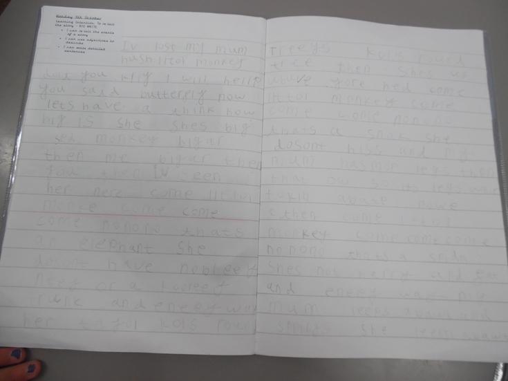 Fantastic quantity of writing