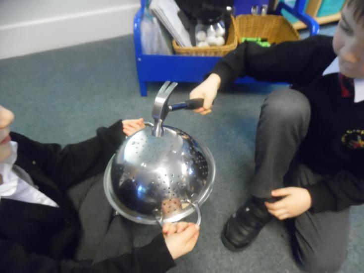 Testing the properties of metal