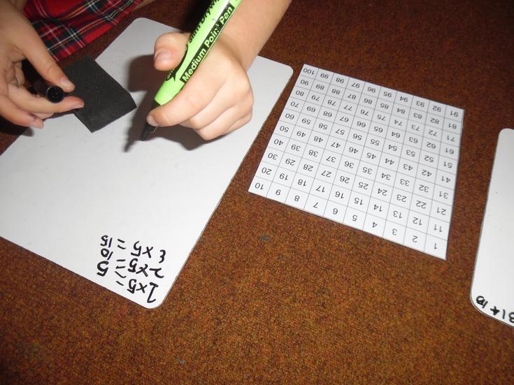 Children building their understanding in maths