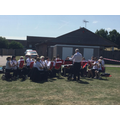 Thank you to the Thanet Concert Band for playing.