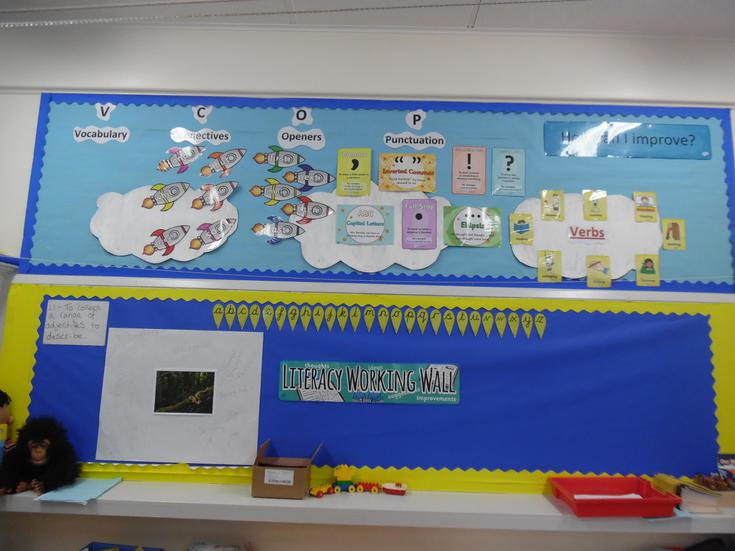 Literacy wall - How can I improve my writing