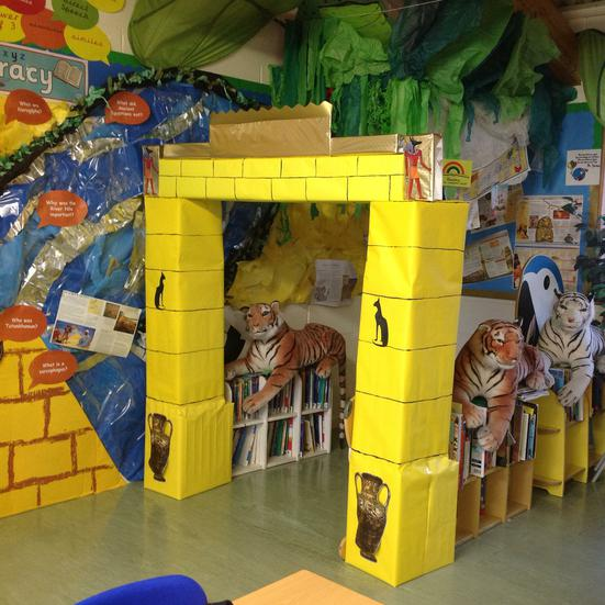 Our new learning environment......