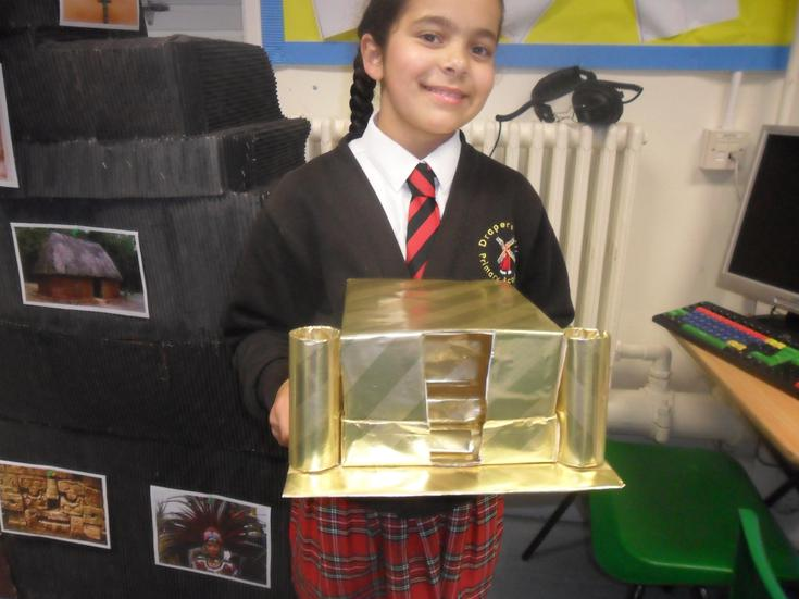 What fantastic project homework by Amalie!