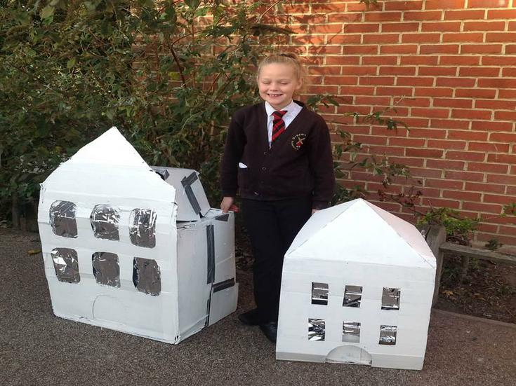 Buildings by Miss Brook White.