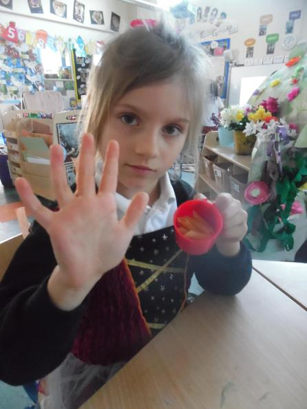 We asked children to guess the number of objects