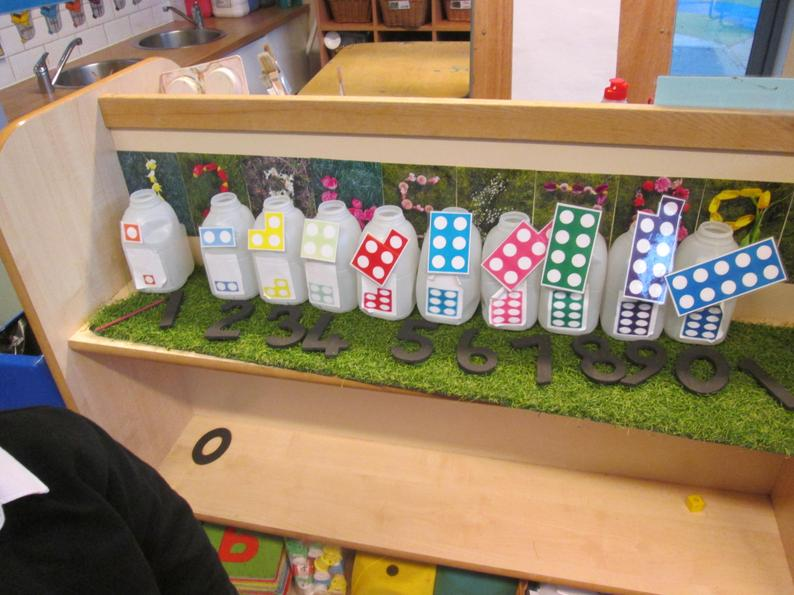 Matching numbers using different representations.
