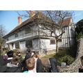 This is the Tudor house that we visited