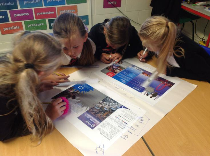 Identifying features of a leaflet.