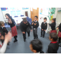 We sang 'My shoes... YEAH!'