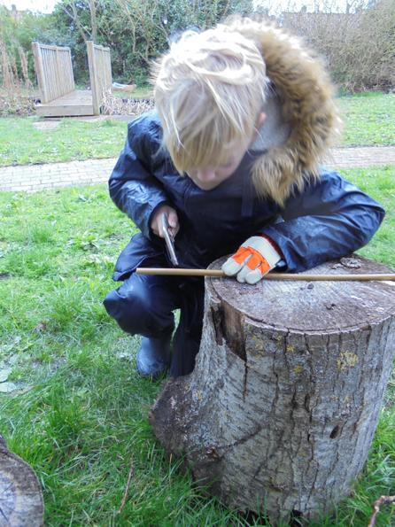 Learning to saw safely