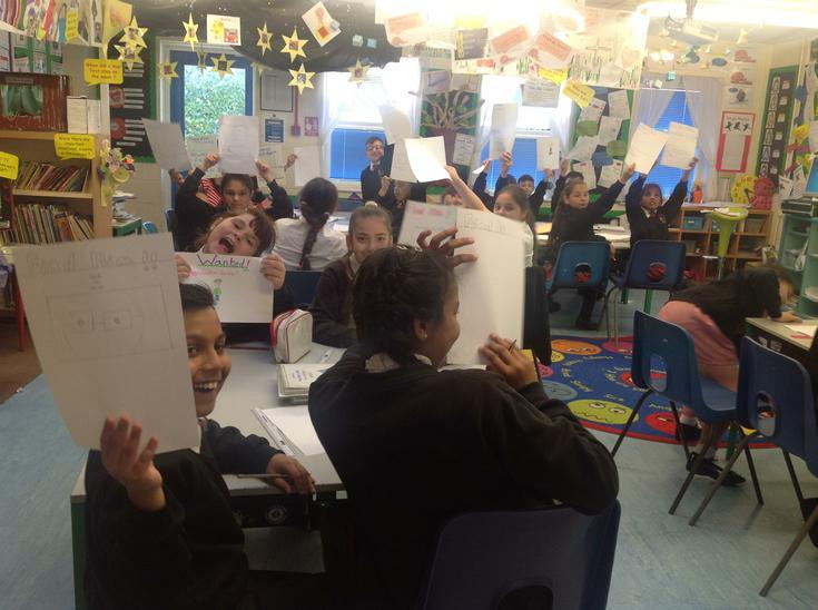 A happy classroom!