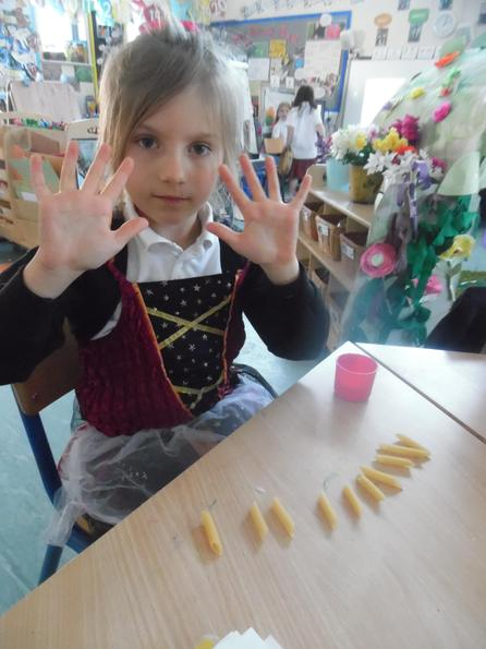 Counting the objects to check how close they are