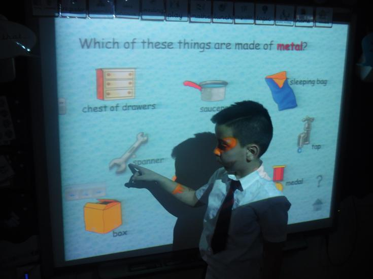 Identify what material objects are made of