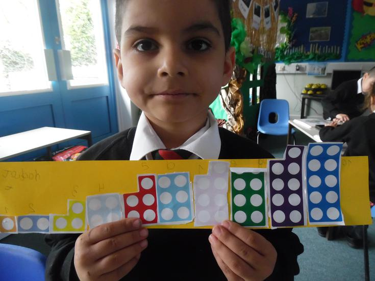 Positioning and ordering numicon plates accurately