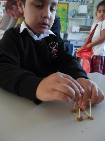 Spaghetti and plasticine structures