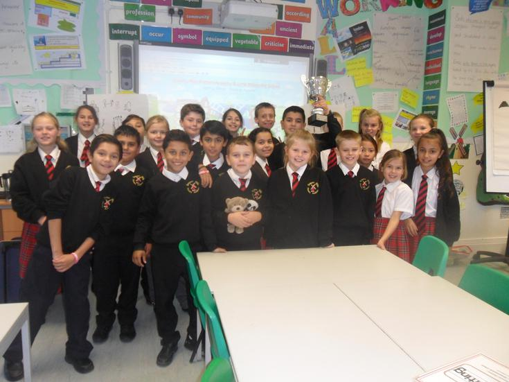 Highest attendance in the school this week - YAY!!