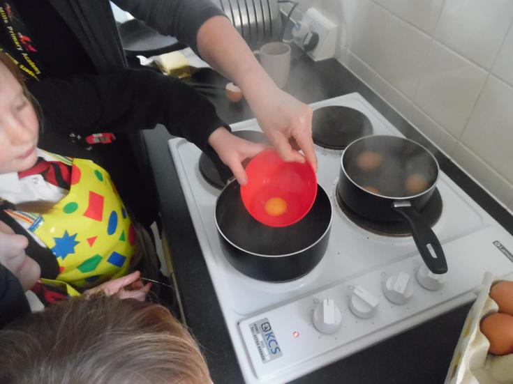 How to poach it-using a bowl is safer too