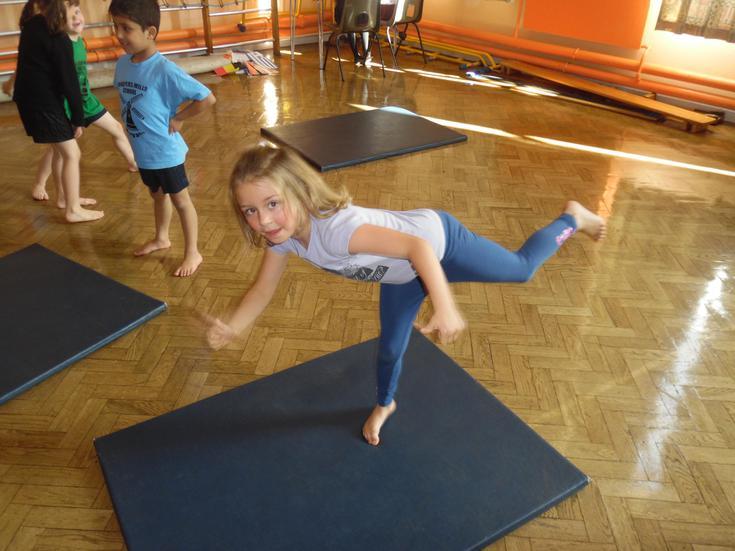 Balance & Travelling in Gymnastics