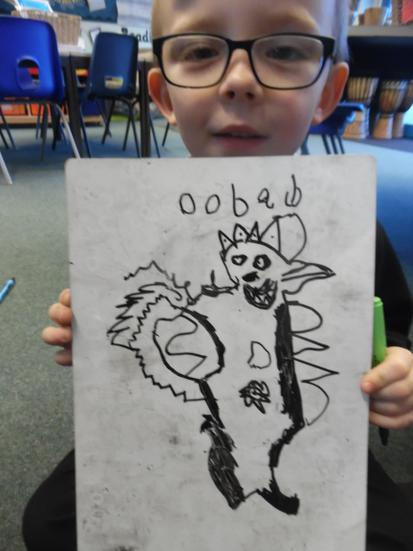 We created a new tale of fear creature!