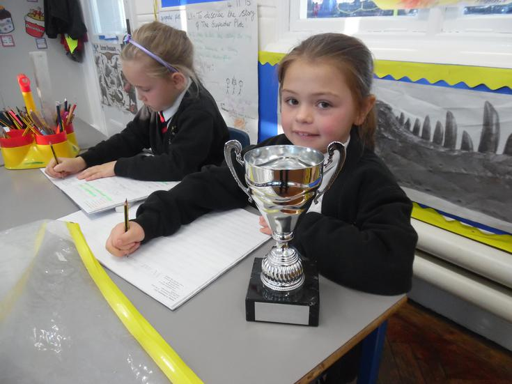 Another Attendance Trophy - 3rd this week!