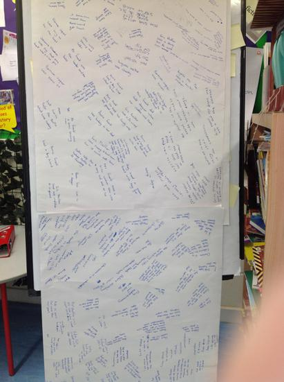 Great teamwork! Notes for a Fact-file..