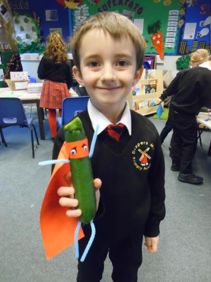 Cunning Courgette is lurking about