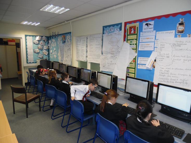 Leopards loved using ICT to share their ideas!