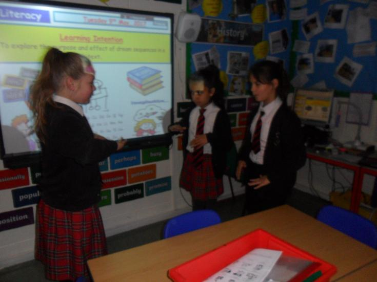 Literacy: Learning through role-play.